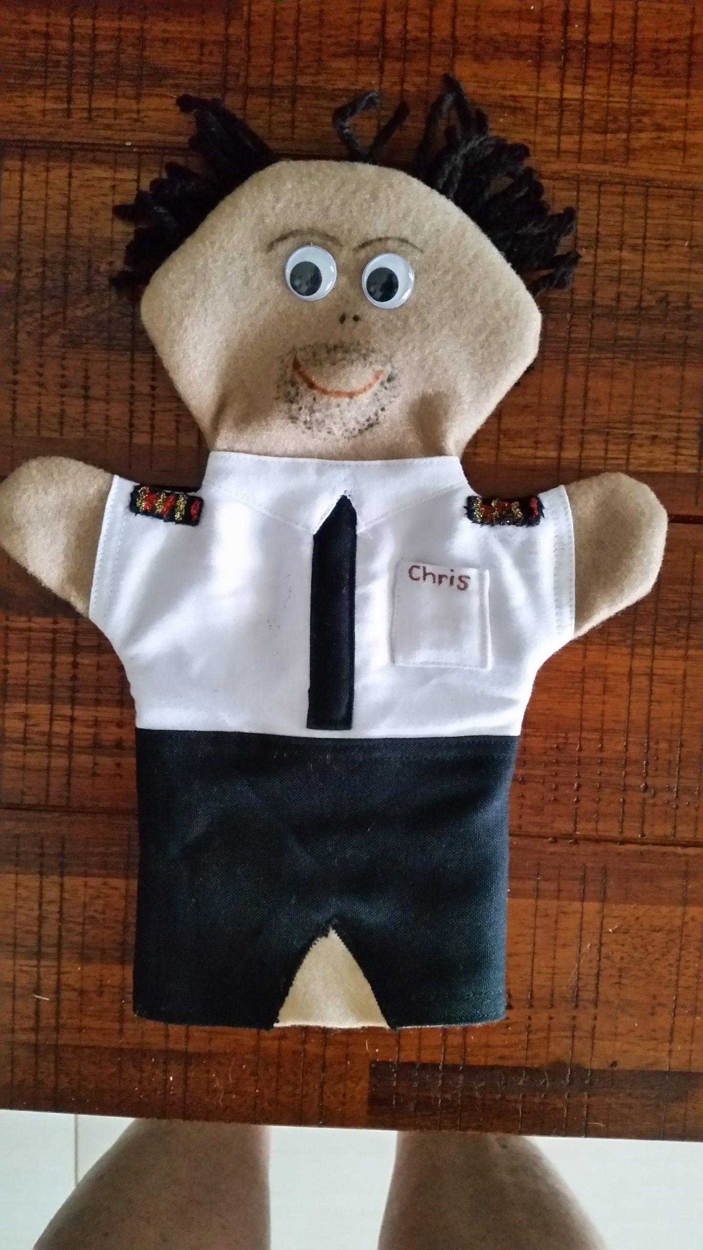 Pilot Hand Puppet