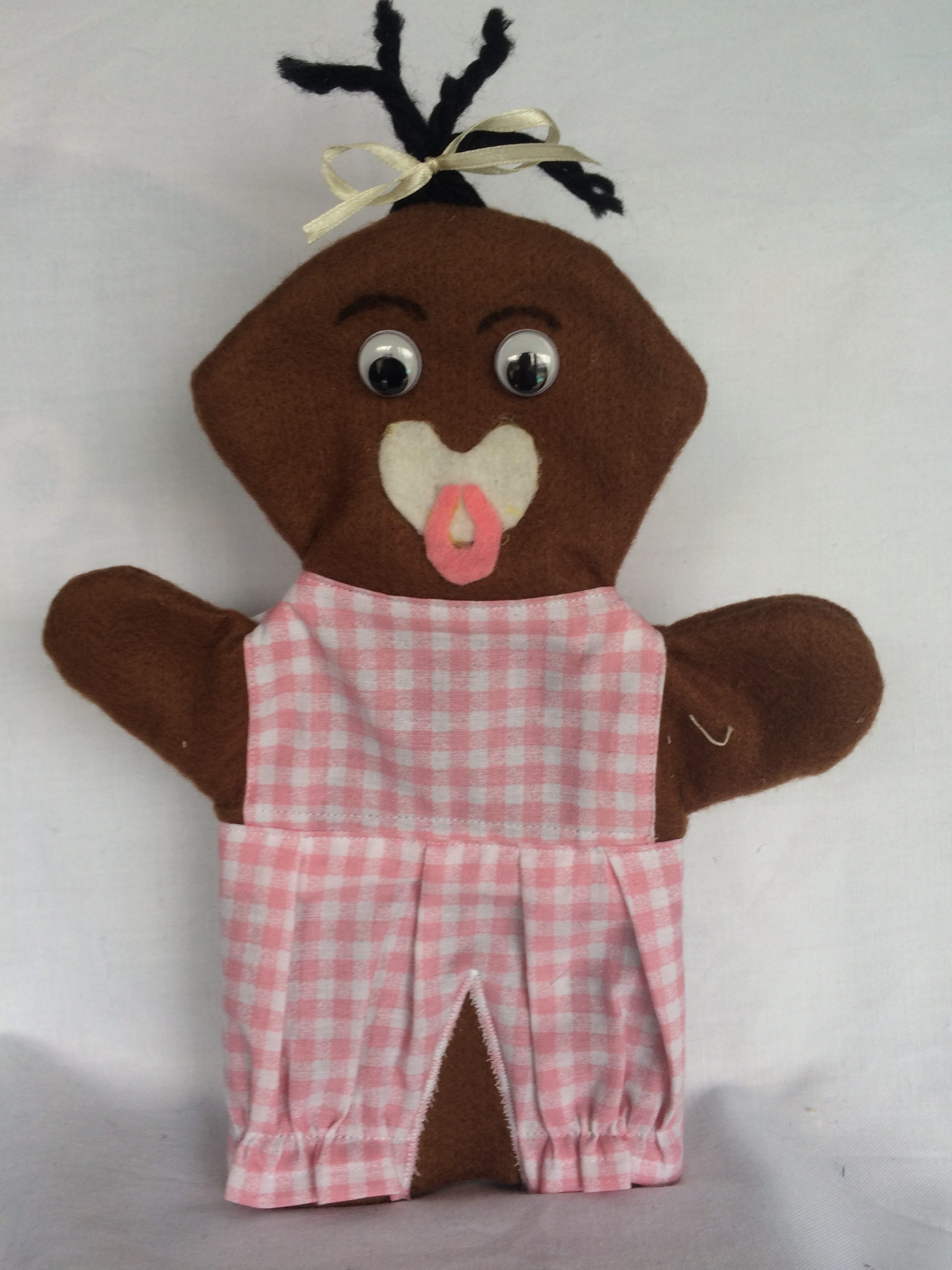 African Baby Hand Puppet