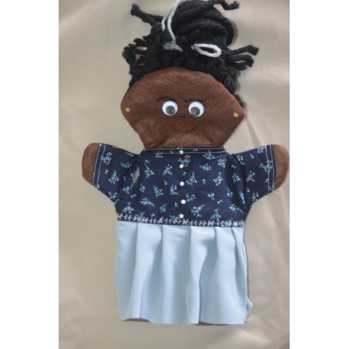 African Granny Hand Puppet
