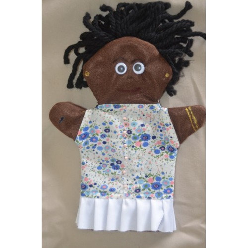 African Mom Hand Puppet