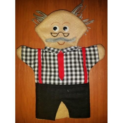 Grandpa Hand Puppet