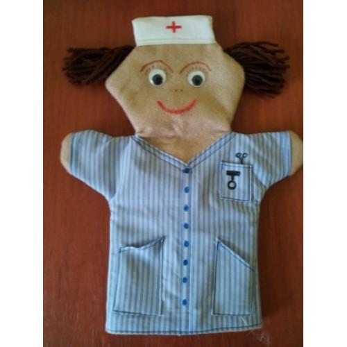 Nurse Hand Puppet