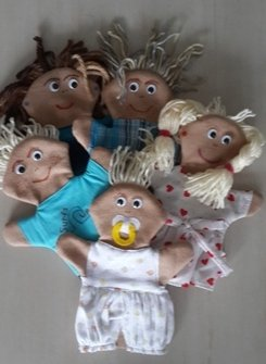 Family of Hand Puppets